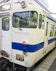 唐津線唐津行き列車