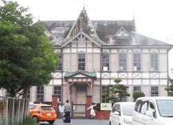 唐津歴史民俗資料館とコスプレイヤー