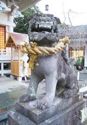 武雄神社の狛犬
